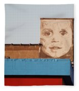 The Face Fleece Blanket