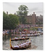 The Olympic Torch Leaves Hampton Court On The Final Leg Of Its J Fleece Blanket