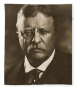Theodore Roosevelt (1858-1919) Fleece Blanket