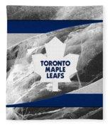 Toronto Maple Leafs Fleece Blanket