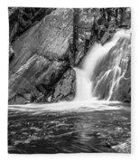 True's Brook Gorge Water Fall Fleece Blanket