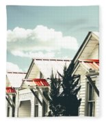 3-v Motel St Francisville La Fleece Blanket
