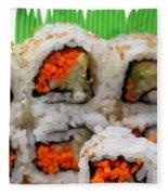 Vegetable Sushi Fleece Blanket