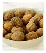 Walnuts Fleece Blanket
