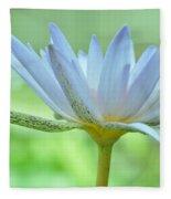 Water Lily  2 Fleece Blanket