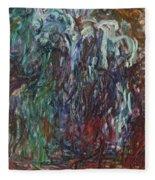 Weeping Willow Fleece Blanket