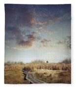 Wetland Walk Fleece Blanket