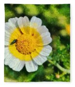 Wild Daisy Fleece Blanket