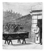 William Henry Vanderbilt (1821-1885) Fleece Blanket