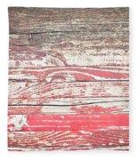 Wood Background Fleece Blanket