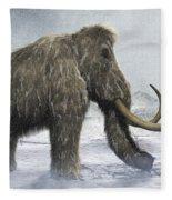 Woolly Mammoth Fleece Blanket