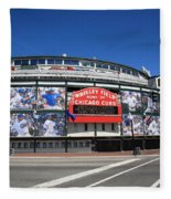 Wrigley Field - Chicago Cubs Fleece Blanket