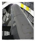 X-37b Orbital Test Vehicle Fleece Blanket
