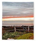 Yachats Oregon Fleece Blanket