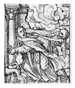 Dance Of Death, 1538 Fleece Blanket