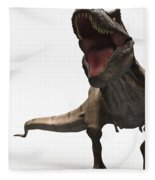 Dinosaur Tyrannosaurus Fleece Blanket