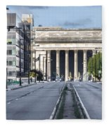 30th Street Station From Jfk Blvd Fleece Blanket