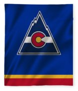 Colorado Rockies Fleece Blanket