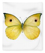 32 Dercas Lycorias Butterfly Fleece Blanket