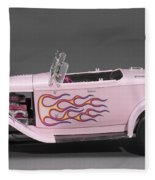'32 Ford Hot Rod Fleece Blanket