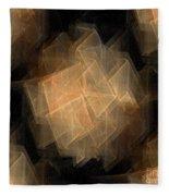Seamless Background Fractal Fleece Blanket