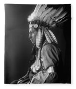 Sioux Native American, C1900 Fleece Blanket