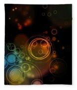 Abstract Background Fleece Blanket