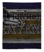 Baltimore Ravens Fleece Blanket