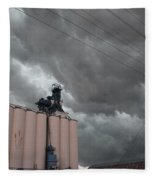 Nebraska Panhandle Supercells Fleece Blanket