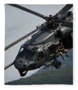 33rd Rescue Squadron, Osan Air Base Fleece Blanket