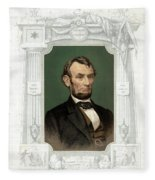 Abraham Lincoln (1809-1865) Fleece Blanket