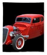 34 Ford Coupe Fleece Blanket
