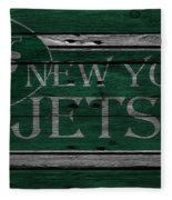 New York Jets Fleece Blanket