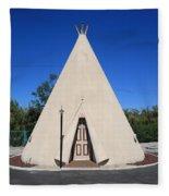 Route 66 - Wigwam Motel Fleece Blanket