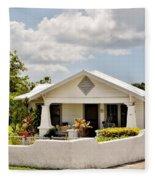 343 Cottage Fleece Blanket