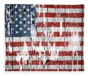 American Flag 49 Fleece Blanket