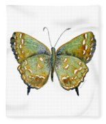 38 Hesseli Butterfly Fleece Blanket