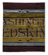 Washington Redskins Fleece Blanket