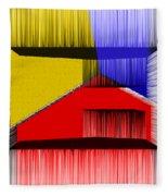3d Abstract 1 Fleece Blanket