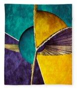 3d Abstract 22 Fleece Blanket