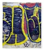3t Graffiti Fleece Blanket