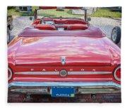 1963 Ford Falcon Sprint Convertible  Fleece Blanket