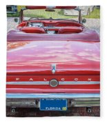 1963 Ford Falcon Sprint Convertible  Fleece Blanket