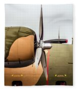 Airplanes At The Airshow Fleece Blanket
