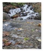 Alaskan Waterfall Fleece Blanket