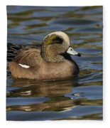 American Widgeon Fleece Blanket