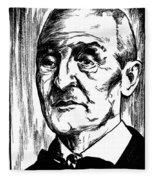 Anton Bruckner (1824-1896) Fleece Blanket