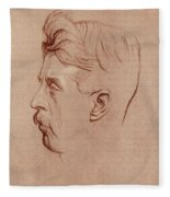 Arnold Bennett (1867-1931) Fleece Blanket