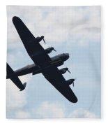 Avro Lancaster Bomber Fleece Blanket