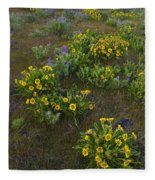 Balsamroot Fleece Blanket